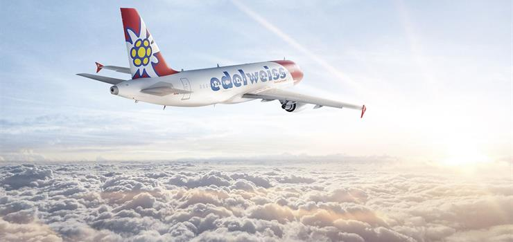 A320 from Edelweiss Air