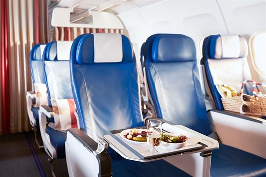 A320 Interior Business Class
