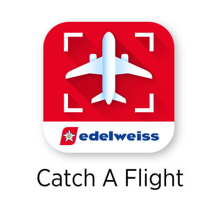 """catch a flight"" app icon"